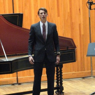 Performing Handel in Madison's Early Music Festival, Summer 2013