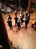 Performing in Canada with Chanticleer