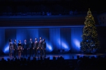 Performing with VOCES8 at Tokyo Opera City
